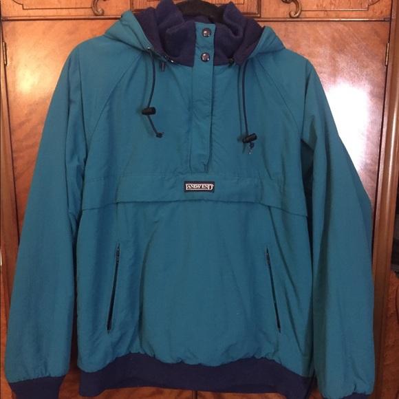 f0936bd0cc Lands  End Jackets   Blazers - Retro  Vintage Lands End ski jacket